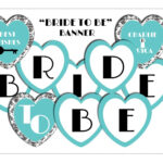 Bridal Shower Banner Template. 1000 Ideas About Bride To Be In Bride To Be Banner Template