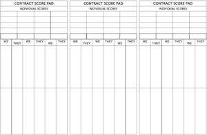 Bridge Score Cards – Byte Insight regarding Bridge Score Card Template