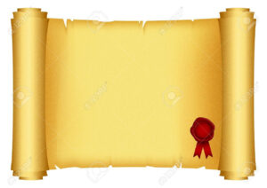 Brilliant Ideas For Certificate Scroll Template With with Certificate Scroll Template