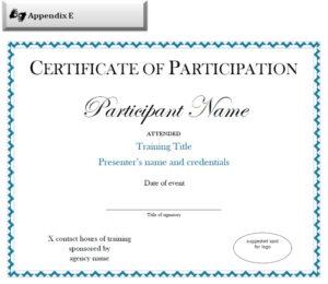 Brilliant Ideas For Conference Participation Certificate regarding Conference Participation Certificate Template