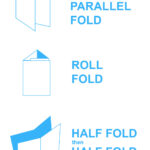Brochure Folds & Free Templates - Mountain View Printing pertaining to Brochure Folding Templates