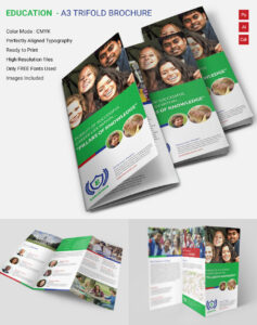 Brochure Template Ai Layout Blank Format Simple A4 Templates throughout Brochure Templates Ai Free Download