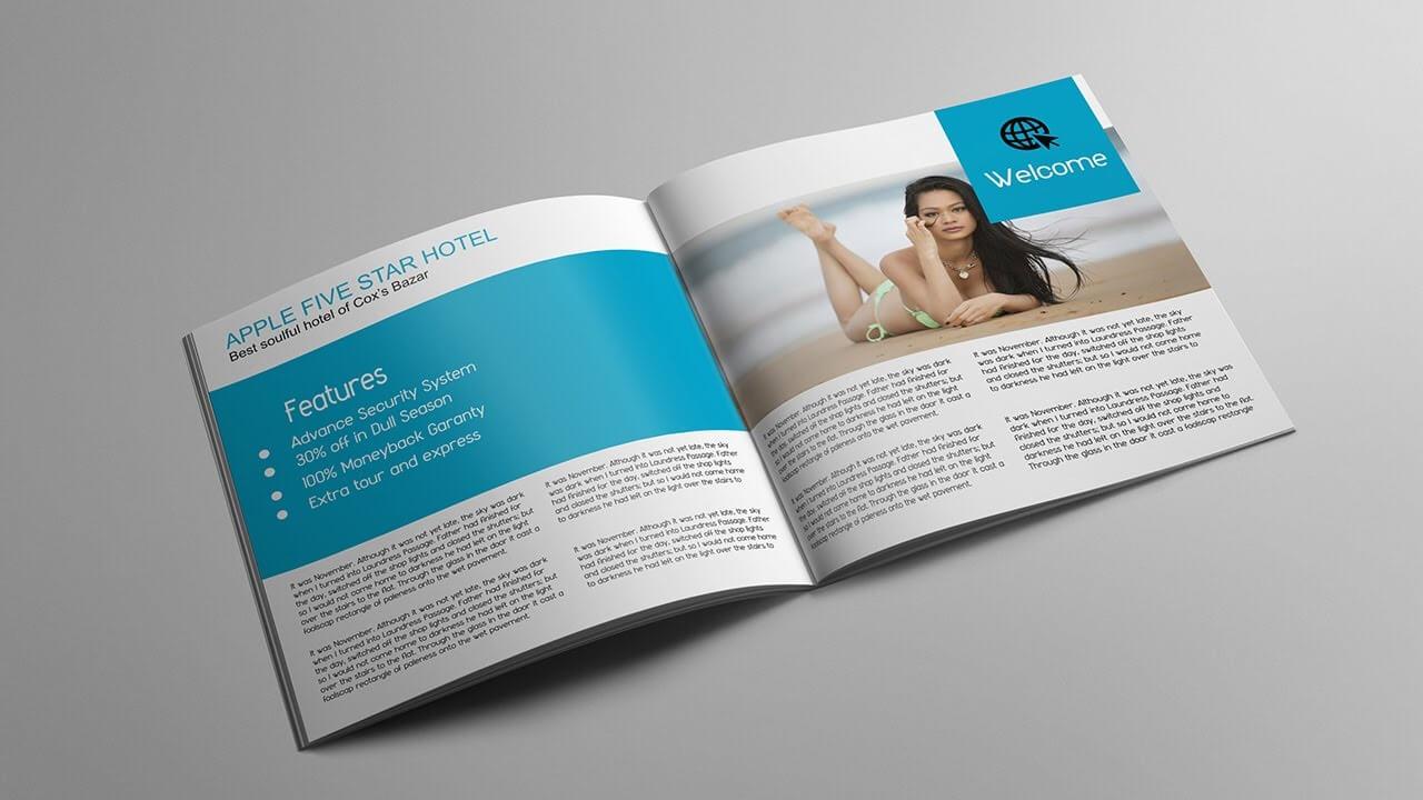 Brochure Template Ai Layout Design Adobe Illustrator Regarding Brochure Templates Adobe Illustrator