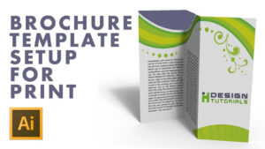 Brochure Template Setup For Print In Adobe Illustrator with Brochure Templates Adobe Illustrator