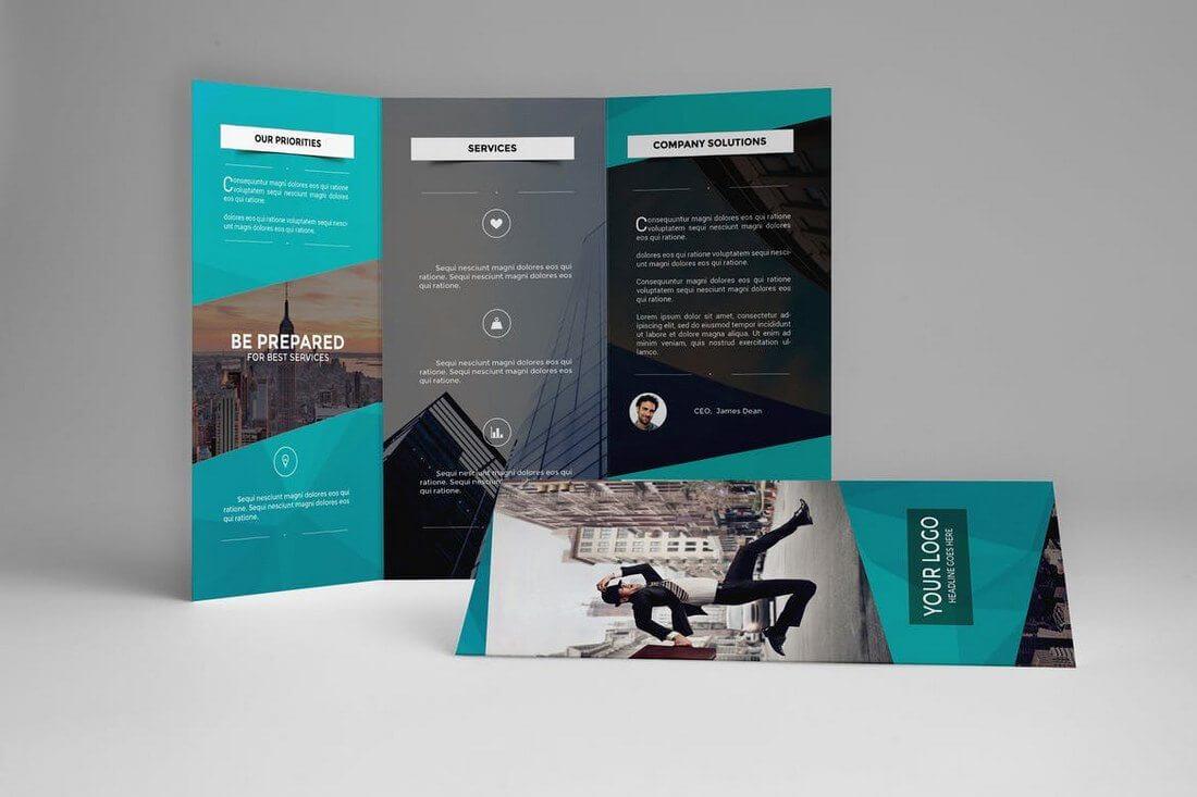 Brochure Templates | Design Shack For Good Brochure Templates