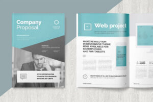 Brochure Templates | Design Shack In Letter Size Brochure Template