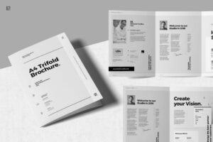 Brochure Templates | Design Shack Inside Letter Size Brochure Template