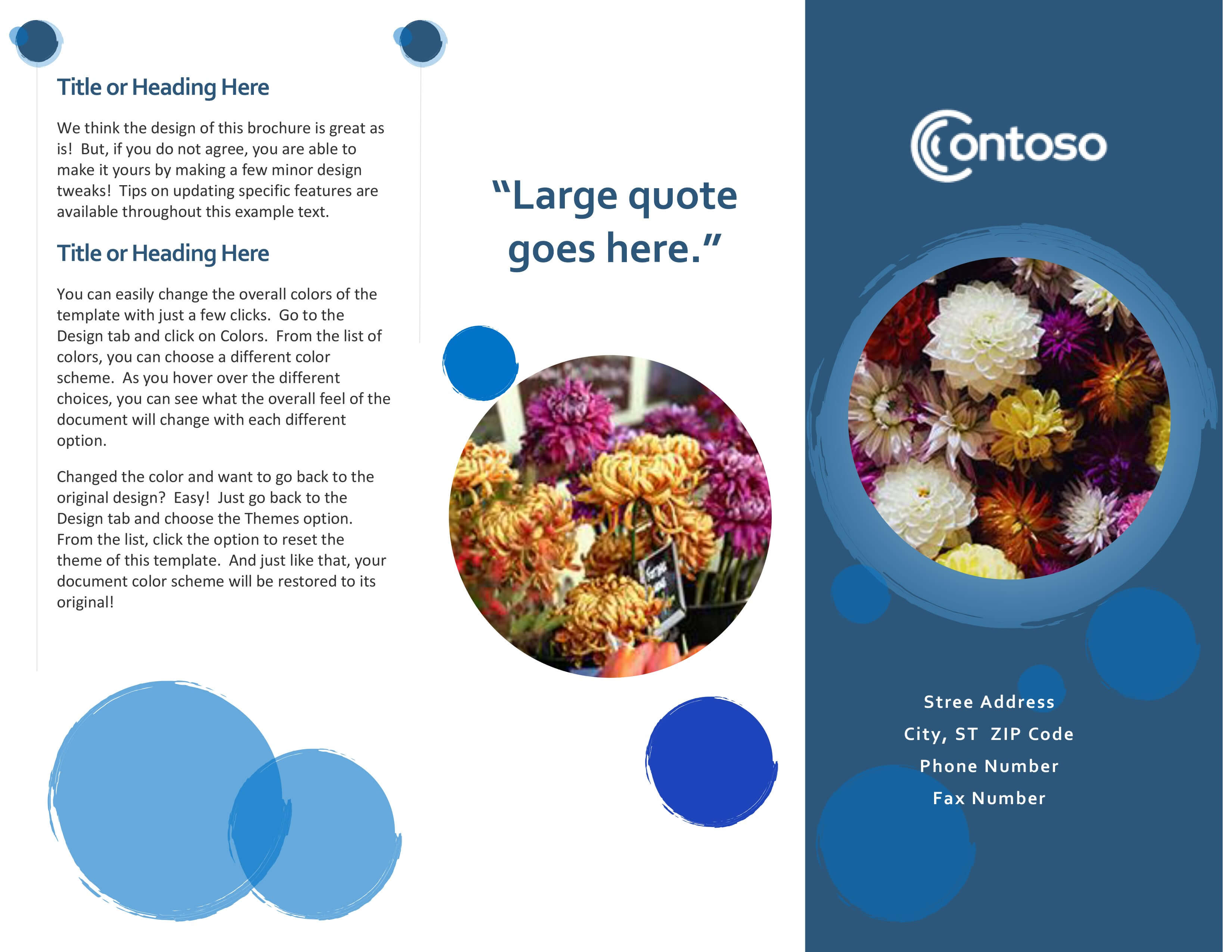 Brochures - Office Pertaining To Mac Brochure Templates