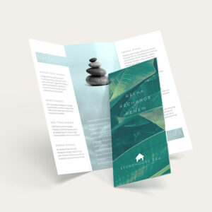 Brochures – Tri-Fold Brochure – Bi-Fold Brochure Printing intended for Pop Up Brochure Template
