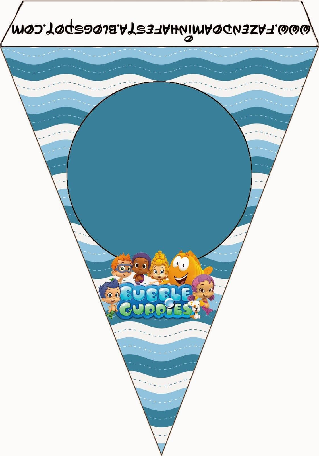 Bubble Guppies Free Party Printables. | Happy Birthday To Pertaining To Bubble Guppies Birthday Banner Template