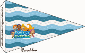 Bubble Guppies Free Party Printables. – Oh My Fiesta! In English Within Bubble Guppies Birthday Banner Template