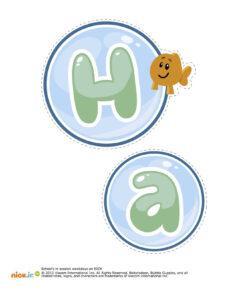 Bubble Guppies Happy Birthday Decorations Printable | Bubble for Bubble Guppies Birthday Banner Template