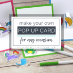 Build Your Own 3D Card With Free Pop Up Card Templates – The Within Printable Pop Up Card Templates Free