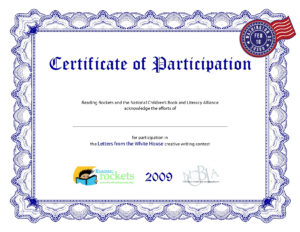 Bunch Ideas For Certificate Of Participation Template Word in Certificate Of Participation Template Word