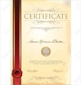 Bunch Ideas For Scroll Certificate Templates Also Sample with Scroll Certificate Templates