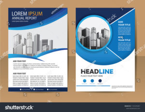 Business Abstract Vector Template Brochure Design Stock within Ind Annual Report Template