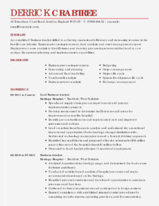 Business Analysis T Template Palladiumes Com Analyst Sample with Credit Analysis Report Template