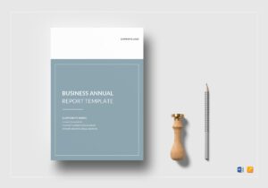 Business Annual Report Template for Annual Report Word Template