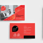 Business Card Design Free Download Ai   Free Modern Business Inside Calling Card Free Template