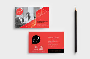 Business Card Design Free Download Ai | Free Modern Business inside Calling Card Free Template