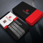 Business Card Design (Free Psd) On Behance In Psd Name Card Template