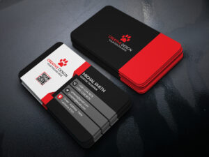 Business Card Design (Free Psd) On Behance throughout Psd Visiting Card Templates
