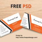 Business Card Mockup Free Psd Template – Free Psd Design Pertaining To Name Card Design Template Psd