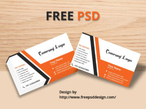 Business Card Mockup Free Psd Template – Free Psd Design pertaining to Name Card Design Template Psd