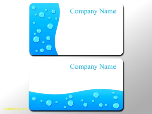 Business Card Photoshop Template Psd Awesome 016 Business inside Blank Business Card Template Download