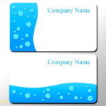 Business Card Photoshop Template Psd Awesome 016 Business Within Blank Business Card Template Photoshop