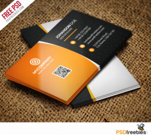 Business Card Psd Template – Bedfordfarmersmkt intended for Template Name Card Psd
