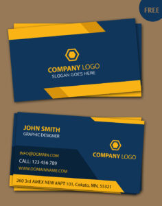 Business Card Psd Templates intended for Call Card Templates