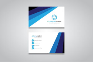 Business Card Template. Creative Business Card | Creative intended for Business Card Maker Template
