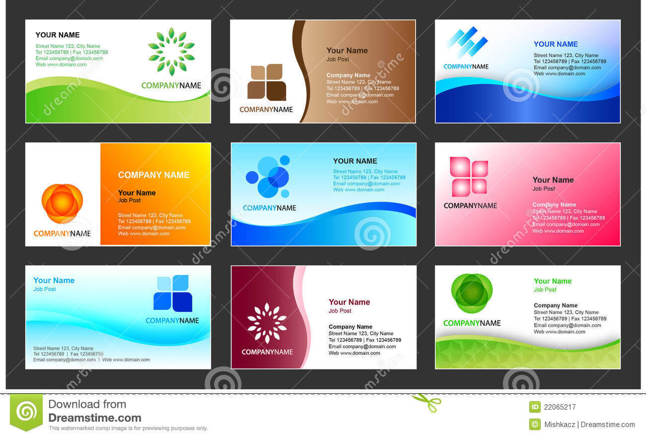 Business Card Template For Free | Business Card Sample Pertaining To Template For Calling Card