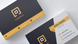 Business Card Template | Free Download | 1 | for Download Visiting Card Templates