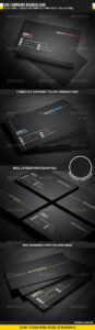 Business Card Templates & Designs From Graphicriver Regarding Construction Business Card Templates Download Free