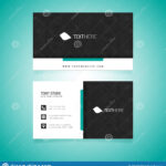 Business Card Vector Template Stock Vector – Illustration Of With Adobe Illustrator Card Template