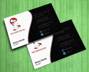 Business Cards Salon Hairdressing Free Hair Stylist Ideas Throughout Hairdresser Business Card Templates Free