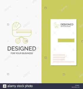 Business Logo For Trolly, Baby, Kids, Push, Stroller within Push Card Template