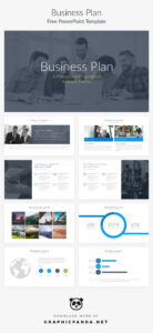 Business Plan Powerpoint Presentation Template Free Ppt inside Powerpoint Presentation Template Size