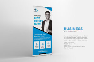 Business Roll Up Banner Template Psd | Roll Up Banner Design Intended For Retractable Banner Design Templates