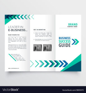 Business Tri Fold Brochure Template Design With with regard to Adobe Illustrator Tri Fold Brochure Template