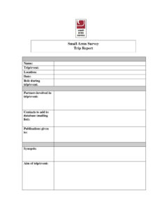 Business Trip Report Template Word Lovely Trip Report Format intended for Business Trip Report Template