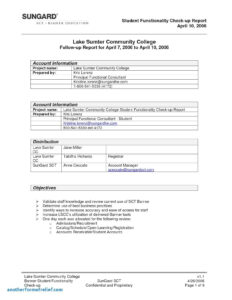 Business Visit Report Template New Example Trip Report Field Throughout Field Report Template