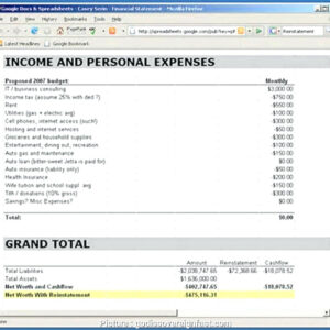 Businessal Statement Excel Template Report Free Small for Excel Financial Report Templates
