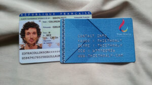 Buy France Id Card Online | License Makers in French Id Card Template