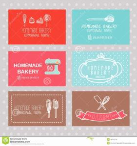 Cake Business Cards Templates Free Boblabus Cake Business with Cake Business Cards Templates Free