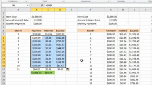 Calculating Credit Card Payments In Excel 2010 with Credit Card Payment Spreadsheet Template