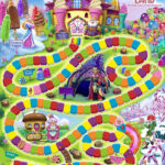 Candyland Board Game Template – Xyztemplates Regarding Blank Candyland Template