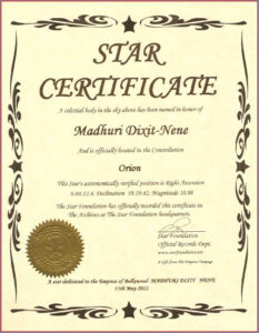 Captivating Star Naming Certificate Template To Make Free Regarding Star Certificate Templates Free